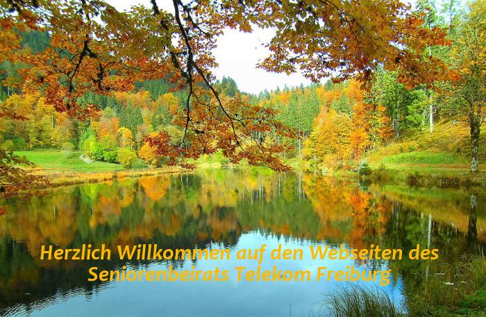 Herbststimmung am Nonnenmattweiher Foto: Irmgard Fischer