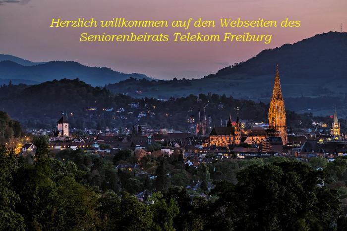 Abendstimmung in Freiburg im Breisgau Foto: Horst Hellwig